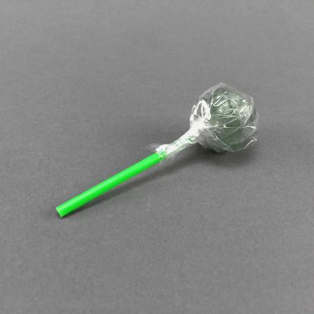 Lolli rund grün Cannabis