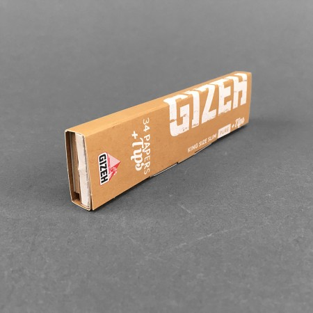 Papers Gizeh PURE King Size Slim + Tips