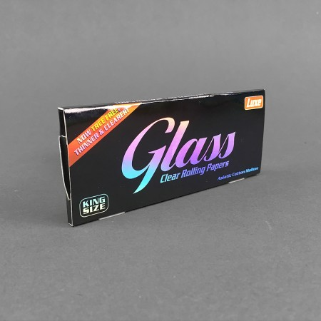 Papers Luxe Glass King Size clear
