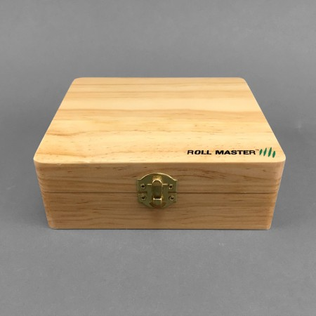 Wooden Rolling Box Big