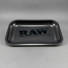 RAW All Black Rolling Tray