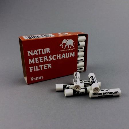 White Elephant 9 mm Meerschaum, 40er