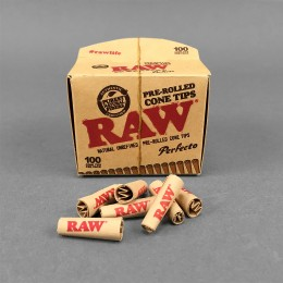 RAW Pre-Rolled Cone Tips, 100er