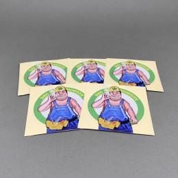 CH Sticker Set 'Baumeister'