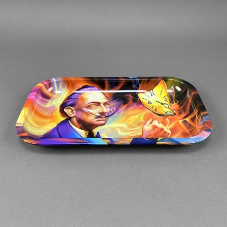 Rolling Tray 'Dalirious'