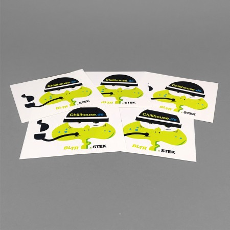 Chillhouse Sticker Set 'Pepe Pipe'