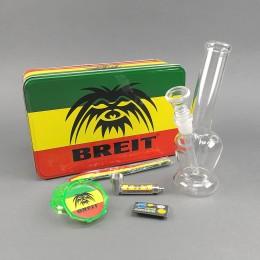 Mini Glasbong Set 'Breit' High