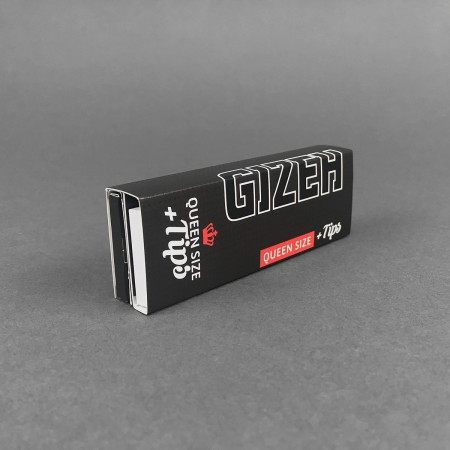 Papers Gizeh BLACK Queen Size + Tips
