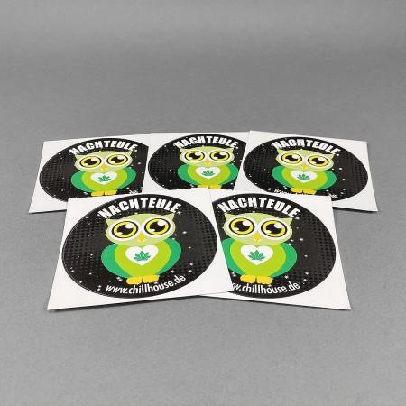 CH Sticker Set 'Nachteule'