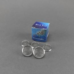 Black Leaf Einleger mit Ring, 15 mm