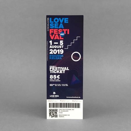 "Festivalticket ""Love Sea"""