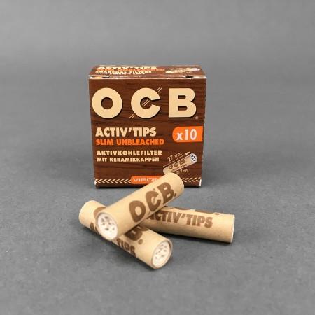 OCB VIRGIN ACTIV Tips Slim, 10er