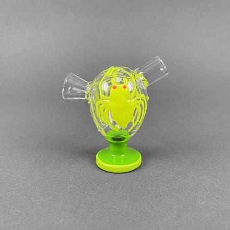 Joint Bubbler 'Green Luminous Spider'