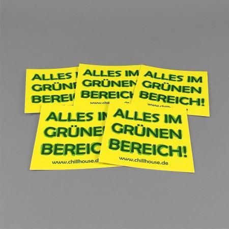CH Sticker Set 'Grüner Bereich'