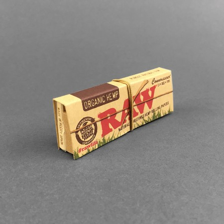 Papers RAW Connoisseur Organic 1 1/4