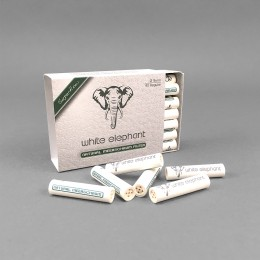 White Elephant 9 mm Meerschaum, 40er