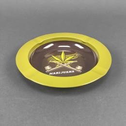 Aschenbecher Metall Marijuana