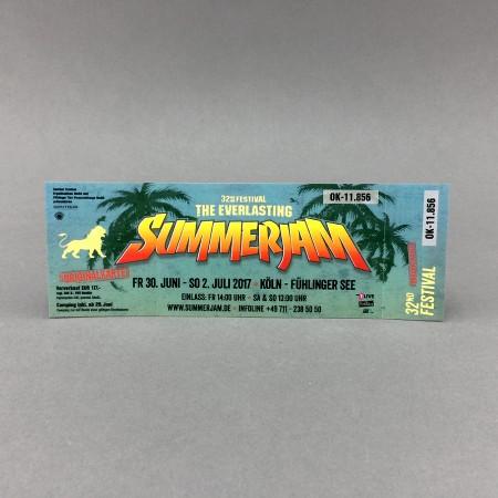 Ticket Summerjam Festival 2017
