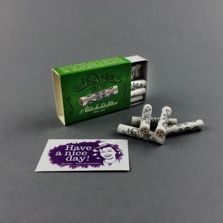 Miss Nice Aktivkohlefilter (10Stk/6mm)