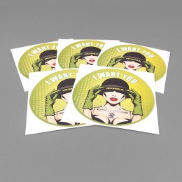 Chillhouse Sticker Set 'I Want You'