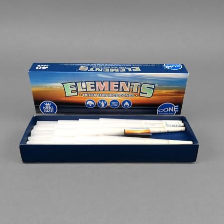 Elements Cones King Size, 40er Pack