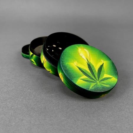 Grinder & Pollinator Flash Leaf
